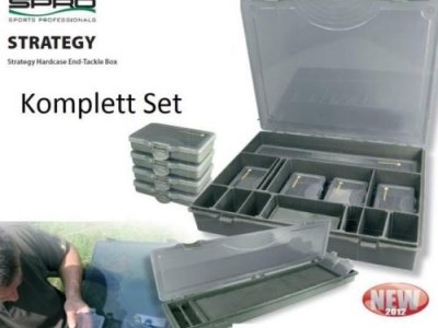 Spro Strategy Tackle Box Complete System